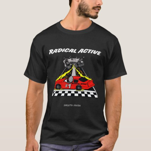 Radical Active Smooth Finish Dark Colors T_Shirt