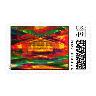 Radical Art 27 Postage Stamp