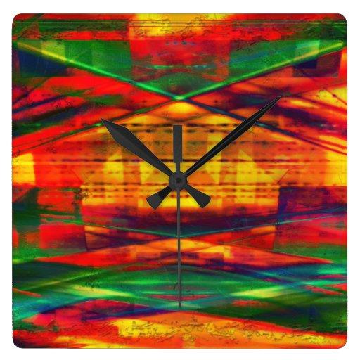 Radical Art 27 Wall Clock