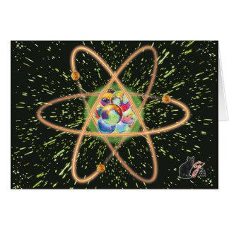 Radical Atomic Greeting Card
