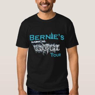 Radical Bernie's truth tour T-shirt