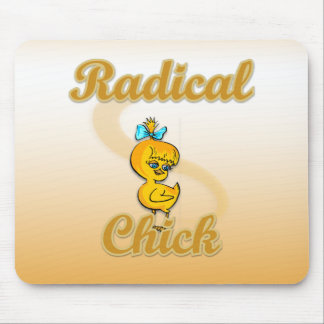 Radical Chick Mouse Pads