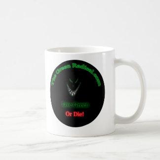 Radical com verde tazas
