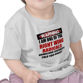 Radical de la derecha camiseta