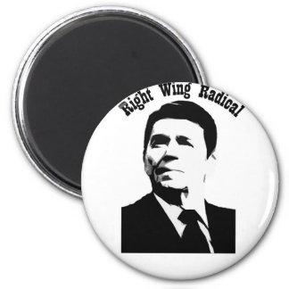 Radical de la derecha de Reagan Imanes De Nevera