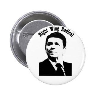 Radical de la derecha de Reagan Pin