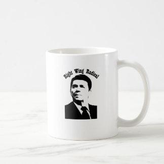 Radical de la derecha de Reagan Tazas