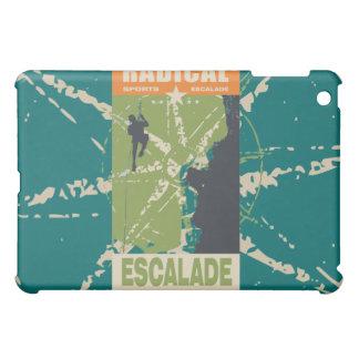 Radical Escalade Rapelling Teal iPad Mini Cover
