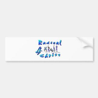 Radical For Christ Bumper Sticker