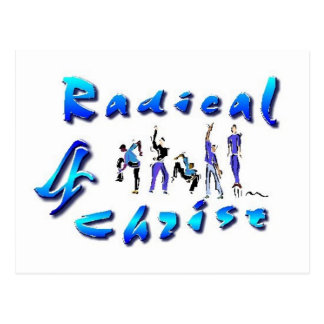 Radical For Christ Postcard