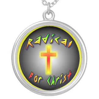 Radical For Christ Round Pendant Necklace