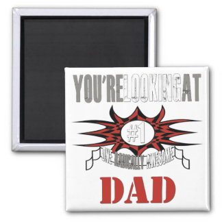 Radical Grey Dad Fridge Magnets