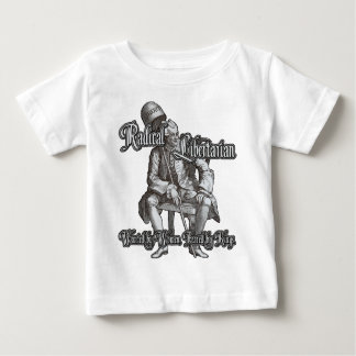Radical Libertarian: Feared by Kings! Baby T-Shirt