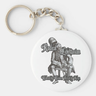 Radical Libertarian: Feared by Kings! Keychain