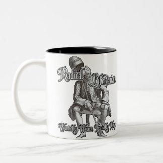Radical Libertarian Two-Tone Coffee Mug