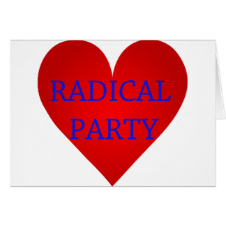 Radical Party Card