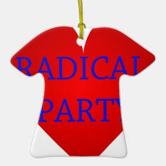 Radical Party Ceramic T-Shirt Decoration