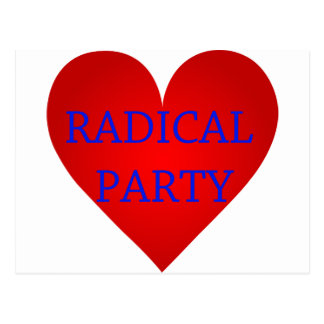 Radical Party Postcard