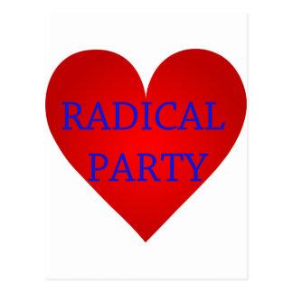 Radical Party Postcard