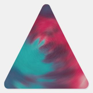 Radical Radial Triangle Sticker