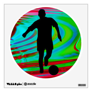 Radical Rainbow Soccer Kick Wall Skin