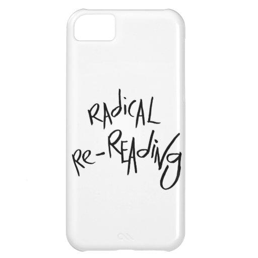 Radical Re-reading iPhone 5C Cases