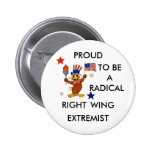 RADICAL RIGHT EXTREMIST BUTTONS