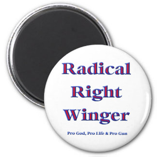 Radical Right Winger Refrigerator Magnets
