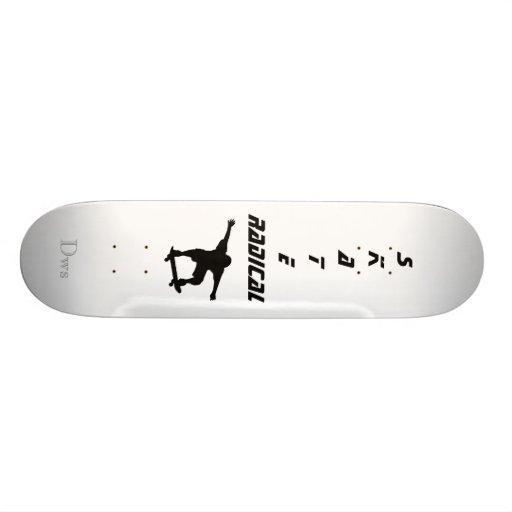 Radical Skate Skateboard Deck