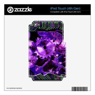 Radical Sreampunk 5 MP3 Player Skin iPod Touch 4G Skin
