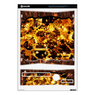 Radical Sreampunk 7 Gaming Skin Decals For Xbox 360 S