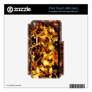 Radical Sreampunk 7 MP3 Player Skin Decal For iPod Touch 4G