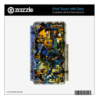 Radical Sreampunk 8 MP3 Player Skin Skins For iPod Touch 4G