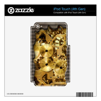 Radical Sreampunk 9 MP3 Player Skin iPod Touch 4G Decals