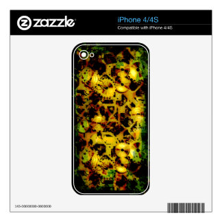 Radical Steampunk 1  Phone Skin Decal For iPhone 4S