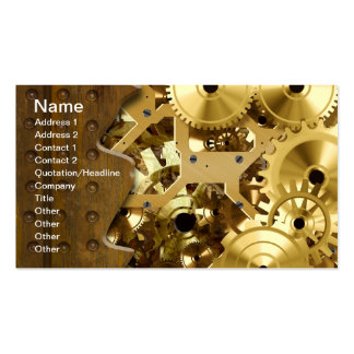 Radical Steampunk 3 Business Cards
