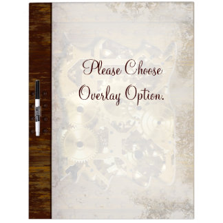 Radical Steampunk 3 Dry-Erase Boards Options