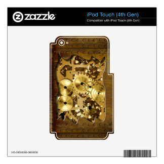 Radical Steampunk 3 MP3 Player Skin Decal For iPod Touch 4G