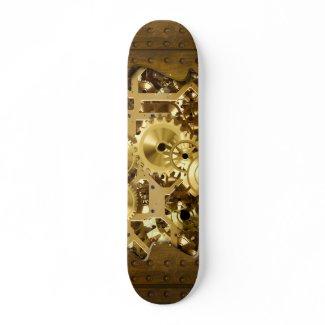 Radical Steampunk 3 Skateboard skateboard