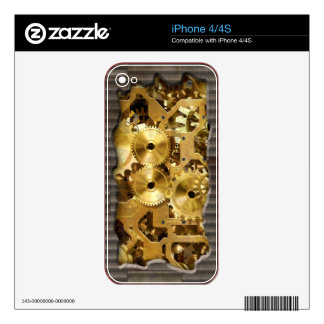 Radical Steampunk 9 Phone Skin iPhone 4 Decals