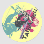Radical Surfing Tshirts and Gifts Classic Round Sticker