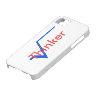 Radical Thinker (Blue and Red) iPhone SE/5/5s Case