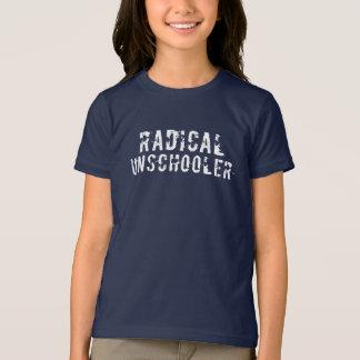 Radical Unschooler Distressed Font T-Shirt