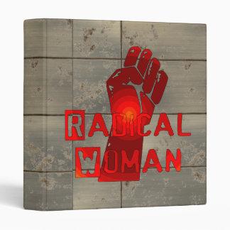 Radical Woman 3 Ring Binder