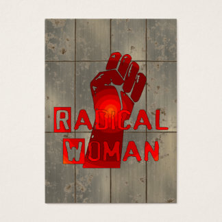 Radical Woman Business Card