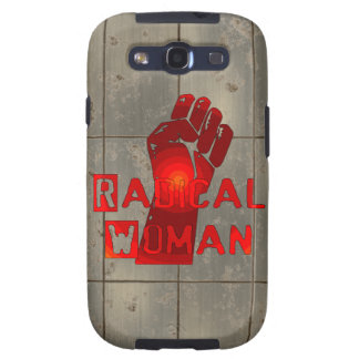 Radical Woman Galaxy S3 Cases