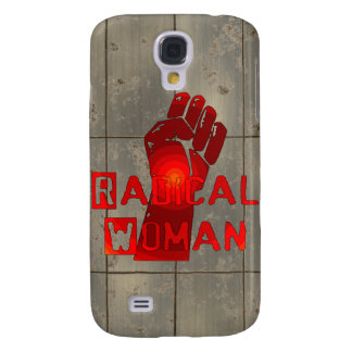Radical Woman Galaxy S4 Covers