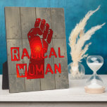 Radical Woman Display Plaque