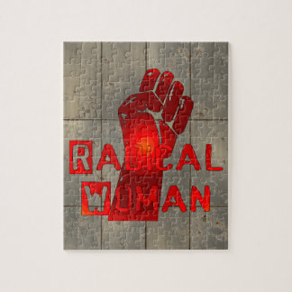 Radical Woman Jigsaw Puzzle