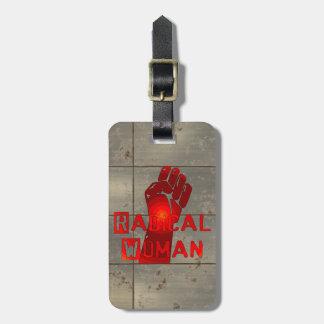 Radical Woman Luggage Tags
